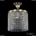 19201/25IV G R Хрустальный подвес Bohemia Ivele Crystal (Богемия), 1920