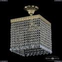 19202/25IV G Leafs Хрустальный подвес Bohemia Ivele Crystal (Богемия), 1920