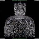 7711/30/Ni/Drops Хрустальная подвесная люстра Bohemia Ivele Crystal