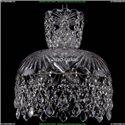 7711/30/Ni/Leafs Хрустальная подвесная люстра Bohemia Ivele Crystal