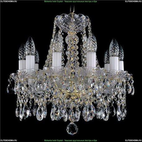 1413.10.141 Bohemia Ivele Crystal, Чешская Подвесная люстра с хрустальным рожком