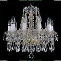 1413/10/141/G Хрустальная подвесная люстра Bohemia Ivele Crystal