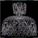 7711/35/Ni/Balls Хрустальная подвесная люстра Bohemia Ivele Crystal