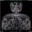 7711/35/Ni/Drops Хрустальная подвесная люстра Bohemia Ivele Crystal