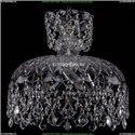 7711/35/Ni/Leafs Хрустальная подвесная люстра Bohemia Ivele Crystal