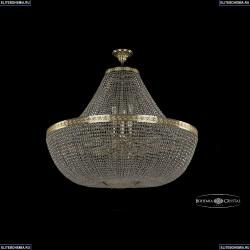 19051/H1/100IV G Хрустальная потолочная люстра Bohemia Ivele Crystal (Богемия), 1905