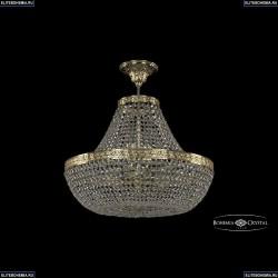 19051/H1/45IV G Хрустальная потолочная люстра Bohemia Ivele Crystal (Богемия), 1905