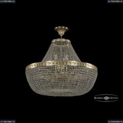19051/H1/70IV G Хрустальная потолочная люстра Bohemia Ivele Crystal (Богемия), 1905