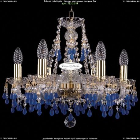 1410/6/160/G/V3001 Хрустальная подвесная люстра Bohemia Ivele Crystal