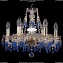 1410/6/160/G/V3001 Хрустальная подвесная люстра Bohemia Ivele Crystal (Богемия)