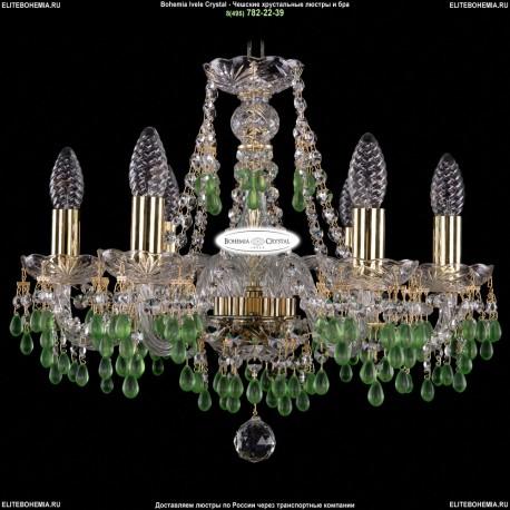1410/6/160/G/V5001 Хрустальная подвесная люстра Bohemia Ivele Crystal