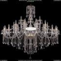1415/20+10+5/530-135/G Хрустальная подвесная люстра Bohemia Ivele Crystal