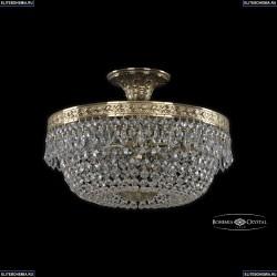 19011/35IV G Хрустальная потолочная люстра Bohemia Ivele Crystal (Богемия), 1901