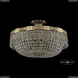 19011/45IV G Хрустальная потолочная люстра Bohemia Ivele Crystal (Богемия), 1901