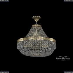 19011/H1/60IV G Хрустальная потолочная люстра Bohemia Ivele Crystal (Богемия), 1901