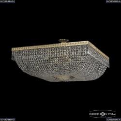 19012/100IV G Хрустальная потолочная люстра Bohemia Ivele Crystal (Богемия), 1901