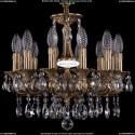 1702/12/CK125IV/A/FP Хрустальная подвесная люстра Bohemia Ivele Crystal
