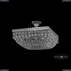 19012/35IV Ni Хрустальная потолочная люстра Bohemia Ivele Crystal (Богемия), 1901