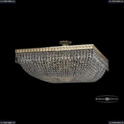 19012/80IV G Хрустальная потолочная люстра Bohemia Ivele Crystal (Богемия), 1901