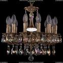1707/12/125/A/FP/701 Хрустальная подвесная люстра Bohemia Ivele Crystal