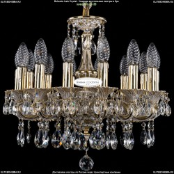 1702/14/CK125IV/A/GW Хрустальная подвесная люстра Bohemia Ivele Crystal