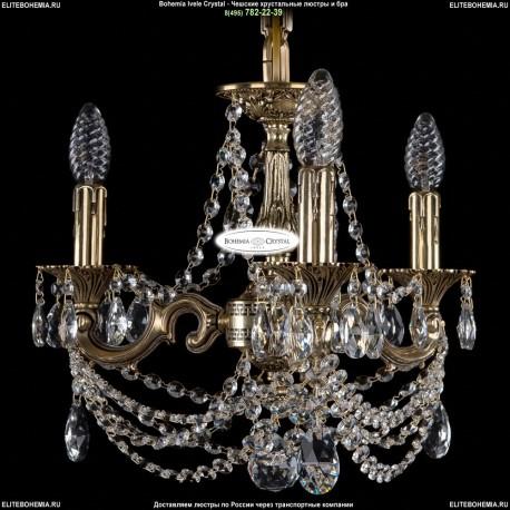 1702/3/CK125IV/C/GB Хрустальная подвесная люстра Bohemia Ivele Crystal