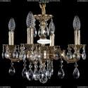 1702/4/CK125IV/A/GB Хрустальная подвесная люстра Bohemia Ivele Crystal