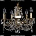 1702/5/СK125IV/C/GB Хрустальная подвесная люстра Bohemia Ivele Crystal
